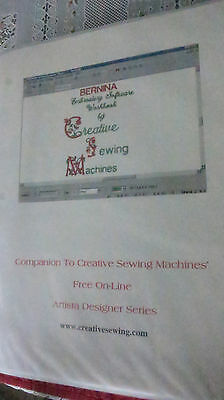 Workbook by Creative Sewing Sue Shrader Bernina Embroidery Software Version 3?