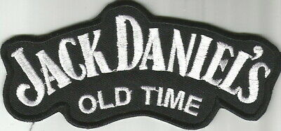 Toppa Patch Ecusson Badge Jack Daniel's Cotone  Thermoaderente X Bikers Harley