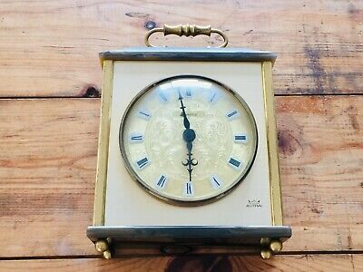 Vintage Astral Quartz Mantel Clock Kundo Germany Movement