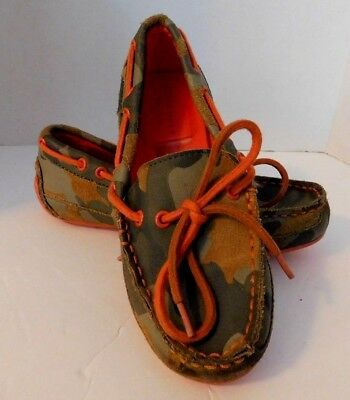 a2c0fa2241b Cole Haan Grant Driver Boys Size 1 Leather Moccasin  Shoes Slip-On Boat  Shoes
