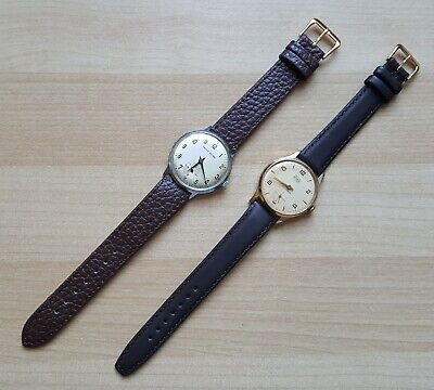 Gent's Vintage Manual Winding Smiths Astral Wrist Watches x 2