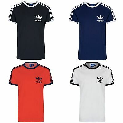 Adidas Originals Men's California Short Sleeve Trefoil T-Shirt Size