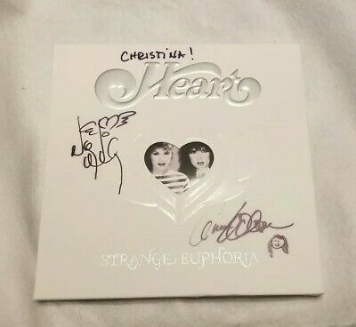 Ann & Nancy Wilson Heart Signed Autographed Strange Euphoria Cd + Dvd Box Set
