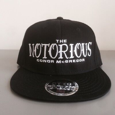 Conor McGregor The Notorious Authentic SnapBack Boxing  Hat Mayweather OTTO RARE