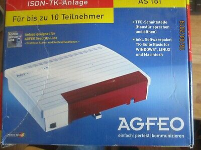 Agfeo AS 181 ISDN Telefonanlage