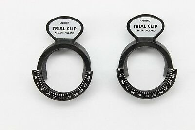 Keeler Halberg Trial Clip Set of 2 w/case, Free USA Shipping*