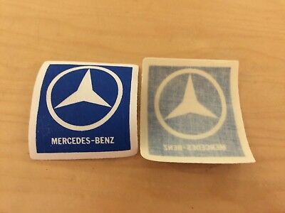MERCEDES-BENZ vintage  patch, new old stock , iron on  1980's