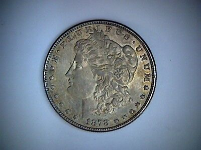 1878-S United States Morgan Silver Dollar .77344 Ounce Silver, Old U.s. Dollar