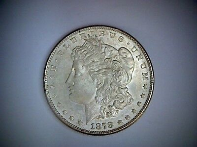 1878-S United States Morgan Silver Dollar .77344 Ounce Silver, Old Coin,  U. S.