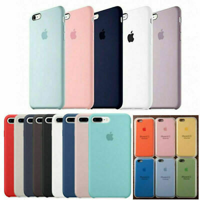 46c2419f3f6 ORIGINAL Ultra-Thin Silicone Back Case Cover For Apple iPhone X 6 6S Plus 7