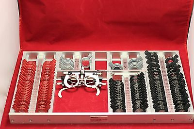MARCO CUSTOM LIMITED TRIAL LENS SET w/Marco Trial Frame! Plus Cyls. Sale!