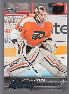 2015 15-16 UD Upper Deck Young Guns YG Rookie #488 Anthony Stolarz RC Flyers QTY