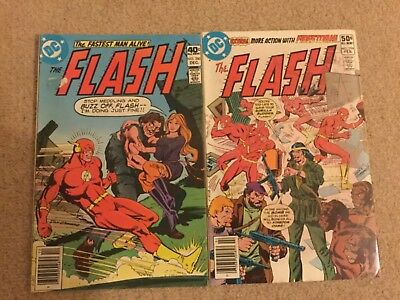The Flash 280 + 294  DC Comics 1979/81