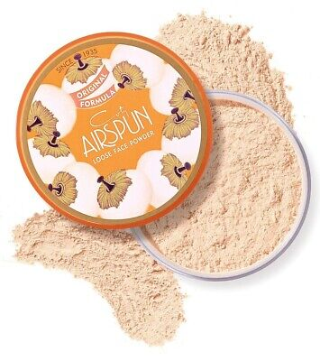 🔥 COTY AIRSPUN Loose Face Powder Translucent Extra Coverage | FREE SHIPPING