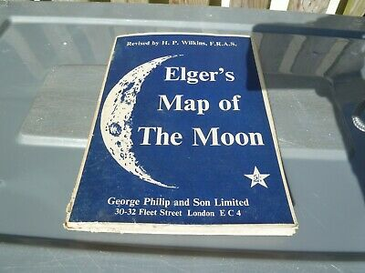 Elger's Map of the |Moon - George Philip and Sons Ltd