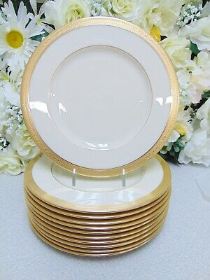 ❤ Lenox LOWELL (GOLD BACKSTAMP) Salad Plate 8 1/4 Inches