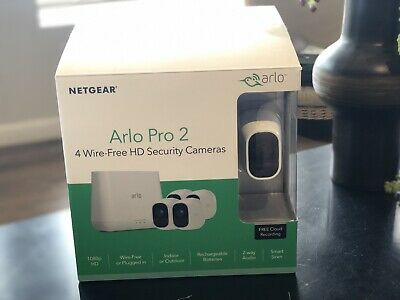 NETGEAR ARLO PRO 2 VMS4430P-100NAS HD 1080p Wireless Security Camera