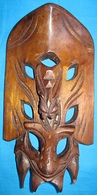Vintage Antique Collectible wooden Tribal Mask Decor Mask