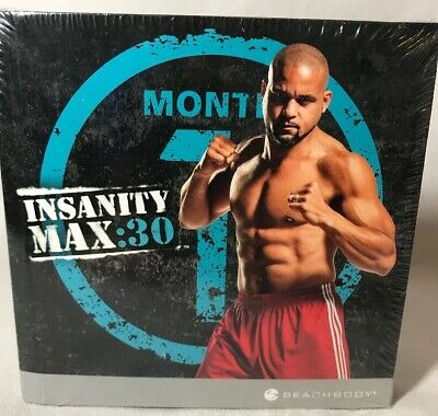 BRAND NEW INSANITY Max 30 Sweat Fest DVD Dig Deep Live With
