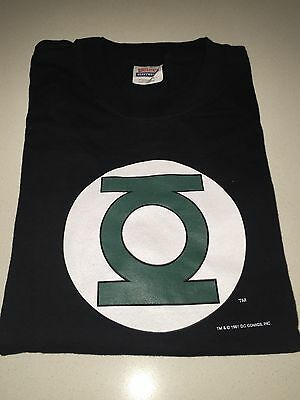 Dc Comics Green Lantern Original Long Sleeve Top Size L - Top Condition
