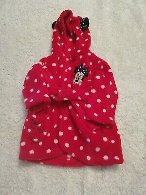 Disney Minnie Mouse Dressing Gown 3-6 Months