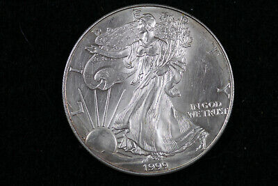 ESTATE FIND 1999  American Silver Eagle  #D18917