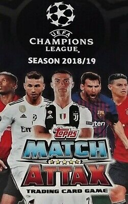 Match Attax UEFA Champions League Trading Cards 2018/19