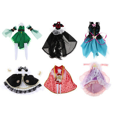 1/6 BJD Dress Cosplay Clothes Outfits Set for Dollfie Clothing Lolita Skirt