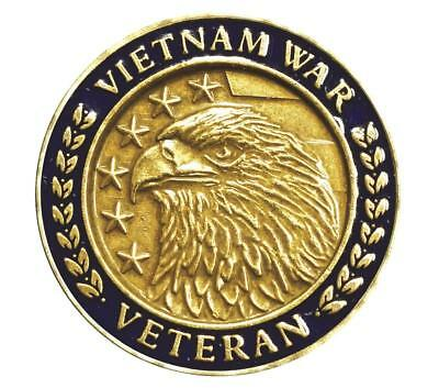 Vietnam War Veteran 50th Anniversary Eagle Commemorative Lapel Pin