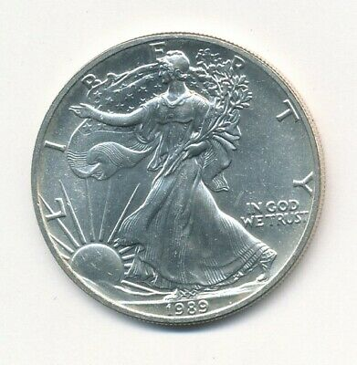 1989 American Silver Eagle 1 Oz Coin Exact Shown