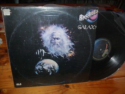 ROCKETS Galaxy 1980 LP Promo FUNKY DISCO COSMIC ITALO SOUL SYNTH NM ROCKLAND