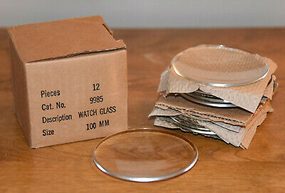 PYREX Original Made in USA 9985 100mm Watch Glass 12 Pieces NEW Great Shape!