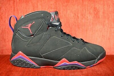 new styles 1aa22 90d86 CLEAN AIR JORDAN VII 7 RETRO TORONTO RAPTORS BLACK Size 8.5 304775-018