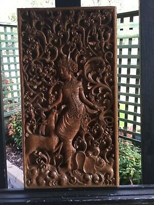 Indoneasian Hand made wood carving
