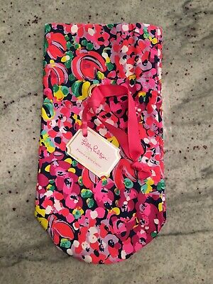 NWT!! Lilly Pulitzer Wine Tote in pattern, Wild Confetti