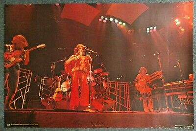 Yes Live On Stage 1978 POSTER Pace International Jon Anderson Steve Howe