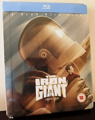 THE IRON GIANT (1999) Blu-Ray UK Exclusive Limited Edition STEELBOOK *BRAND NEW*