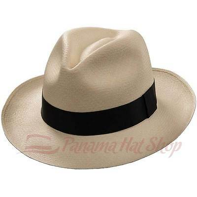 1577e14ca2f82e 🥇NEW GENUINE MONTECRISTI Panama Hat Rollable Handmade Ecuador ...