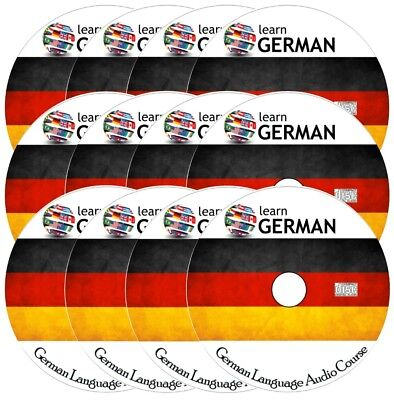 Learn to speak GERMAN - Complete Language Training Audio Course on 12 AUDIO CDs