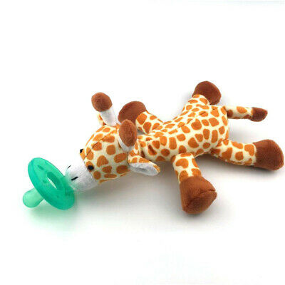 NEW - WubbaNub Infant Pacifier - Giraffe - FREE SHIPPING