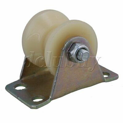 31mm Groove Track Roller Wheel Caster Rigid Top Plate for Machine Tool