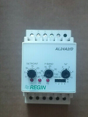 REGIN AL24A2/D Controller for DIN-rail mounting, two 0...10 V outputs