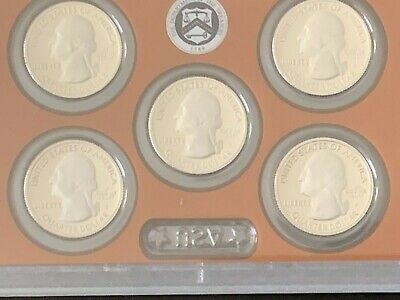 2019 U.s. Mint Proof Set In Gem Bu With C.o.a. Amazing Blazing Coins W,no Cent