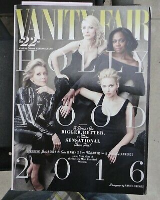 Vanity Fair Magazine - 2016 - Annual Hollywood Issue