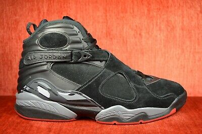 best sneakers 77d82 ead01 WORN ONCE Nike Air Jordan 8 VIII Retro Bred Black Cement 305381-022 Size 11