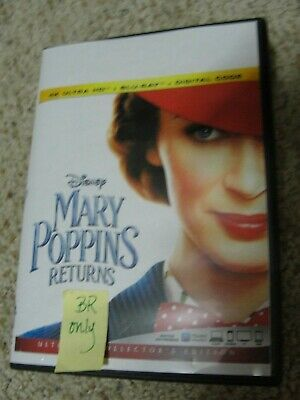 Mary Poppins Returns (Blu-ray ONLY) Disney - Emily Blunt - See Details