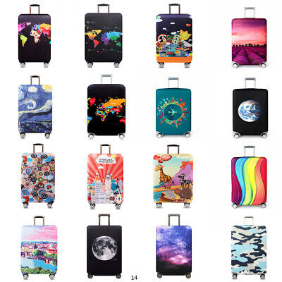 """18"""" - 32"""" Elastic Anti-scratch Luggage Suitcase Dust Cover Baggage Protector"""