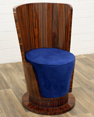 New SPIRIT CLUBSESSEL, veneered CLUB CHAIR - ART DECO Designerstuhl, LUXUS STUHL