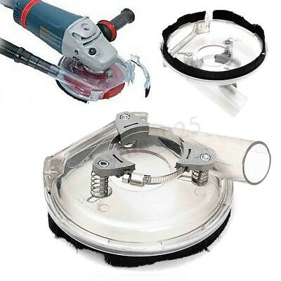Clear Cutting Dust Shroud Cover Kit for 4''/ 5'' Angle Hand Grinder Polisher