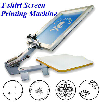11TM Table Board Fixed Single 1 Color 1 Station T-shirt Screen Printing Machine